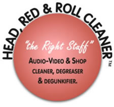 Head, Red & Roll Cleaner logo. The Right Stuff.